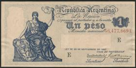 Argentinien / Argentina P.243 1 Peso (1908-35) (2)