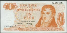 Argentinien / Argentina P.293 1 Peso (1974) (1)