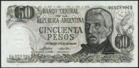 Argentinien / Argentina P.296 50 Pesos (1974-75) (1)
