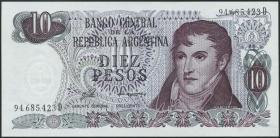 Argentinien / Argentina P.300 10 Pesos (1976) (1)