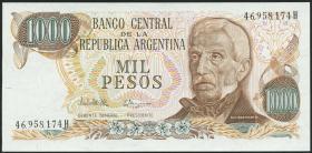 Argentinien / Argentina P.304d 1000 Pesos (1976-83) (1)