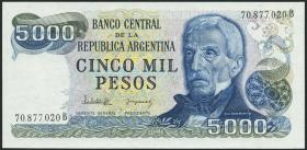 Argentinien / Argentina P.305b 5000 Pesos (1977-83) (1)