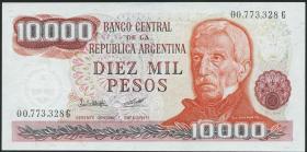 Argentinien / Argentina P.306a 10000 Pesos (1976-83) (1)