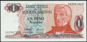 Argentinien / Argentina P.311 1 Argentino (1983-84) (1)