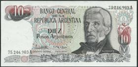 Argentinien / Argentina P.313 10 Argentinos (1983-84) (1)