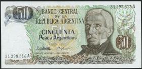 Argentinien / Argentina P.314 50 Argentinos (1983-85) (1)