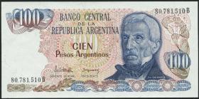 Argentinien / Argentina P.315 100 Argentinos (1983-85) (1)