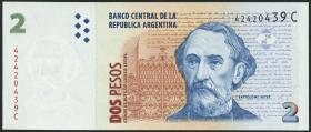 Argentinien / Argentina P.346 2 Pesos (1998-2003) (1)