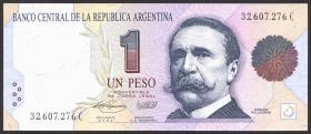 Argentinien / Argentina P.339b 1 Peso (1992-1993) (1)