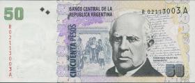 Argentinien / Argentina P.356r 50 Pesos (2003-2013) Replacement (1)