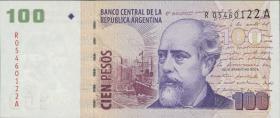 Argentinien / Argentina P.357r 100 Pesos (2003-2013) Replacement (1)