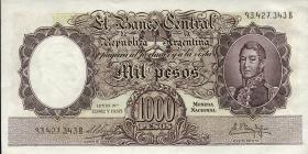 Argentinien / Argentina P.274 1000 Pesos (1955-65) (1)