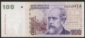 Argentinien / Argentina P.351 100 Pesos (1999-2002) (2)