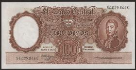 Argentinien / Argentina P.272 100 Pesos (1957-67) (1)