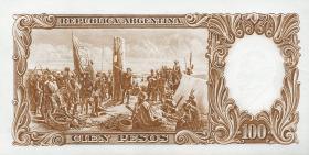 Argentinien / Argentina P.277 100 Pesos (1967-69) (1-)