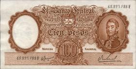 Argentinien / Argentina P.277 100 Pesos (1967-69) (2)