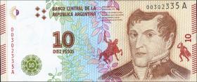 Argentinien / Argentina P.360 10 Pesos (2016) (1)