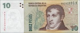 Argentinien / Argentina P.354 10 Pesos (2003-2013) (1)