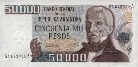 Argentinien / Argentina P.307 50000 Pesos (1979-83) (1)