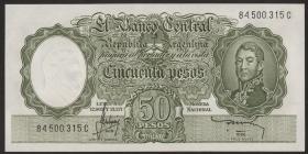 Argentinien / Argentina P.271c 50 Pesos (1955-68) (1)