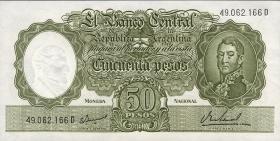 Argentinien / Argentina P.276 50 Pesos (1968-69) (1)