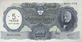 Argentinien / Argentina P.283 5 Pesos (1969-71) (1)
