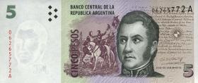 Argentinien / Argentina P.347 5 Pesos (1998-2003) (1)