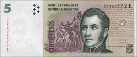 Argentinien / Argentina P.353 5 Pesos (2003-2013) (1)