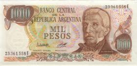 Argentinien / Argentina P.304b 1000 Pesos (1977-83) (1)