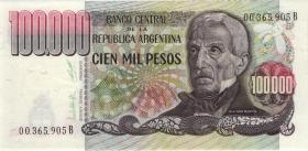 Argentinien / Argentina P.308a 100.000 Pesos (1979-83) (1)