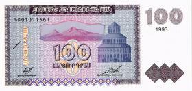 Armenien / Armenia P.36b 100 Dram 1993 (1)