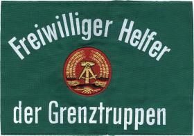 Armbinde Freiwilliger Helfer der Grenztruppen