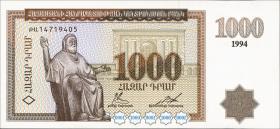 Armenien / Armenia P.39a 1000 Dram 1994 (1)