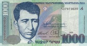 Armenien / Armenia P.45 1000 Dram 1999 (1)