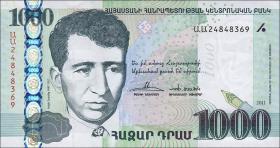 Armenien / Armenia P.55 1000 Dram 2011 (1)