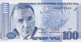 Armenien / Armenia P.42 100 Dram 1998 (1)
