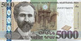 Armenien / Armenia P.56 5000 Dram 2012 (1)