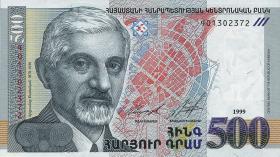 Armenien / Armenia P.44 500 Dram 1999 (1)