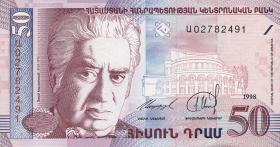 Armenien / Armenia P.41 50 Dram 1998 (1)