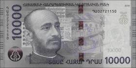 Armenien / Armenia P.neu 10000 Dram 2018 Polymer (1)