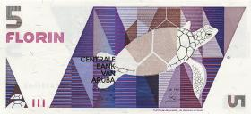 Aruba P.06 5 Florin 1990 (1)