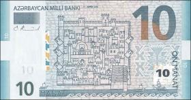 Aserbaidschan / Azerbaijan P.27 10 Manat 2005 (1)