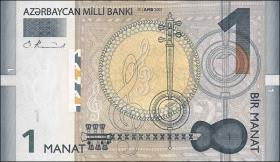 Aserbaidschan / Azerbaijan P.24 1 Manat 2005 (1)