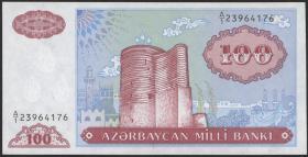 Aserbaidschan / Azerbaijan P.18a 1000 Manat (1993) (1)