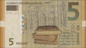 Aserbaidschan / Azerbaijan P.neu 5 Manat 2017 (1)