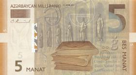 Aserbaidschan / Azerbaijan P.26 5 Manat 2005 (1)