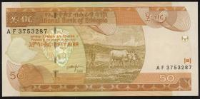 Äthiopien / Ethiopia P.49b 50 Birr 2000 (1)