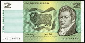Australien / Australia P.43c 2 Dollars (1979) (1-)
