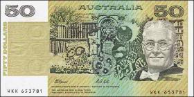 Australien / Australia P.47h 50 Dollars (1991)