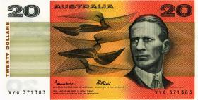 Australien / Australia P.46e 20 Dollars (1985) (2+)